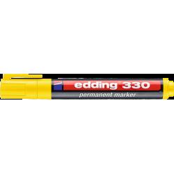 Marker permanentny Edding 330 - żółty