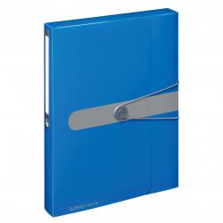 Teczka z gumką Herlitz EasyOrga PP 40mm - niebieski