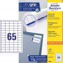 Trwałe etykiety uniwersalne A4 Avery Zweckform - 38x21,2mm /100 ark