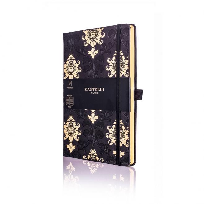 Notatnik Castelli Gold - Baroque