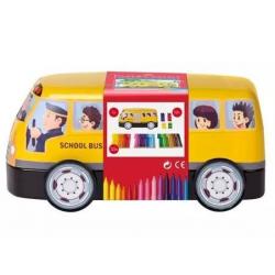Pisaki Faber-Castell Connector - Autobus - 33 kolory