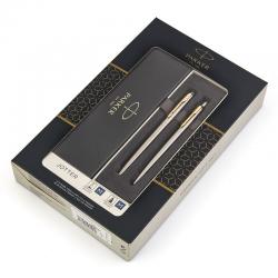 Zestaw prezentowy Parker Jotter Duo - pióro + długopis stalowy GT