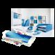 Laminator Leitz iLAM Home Office A4 niebieski