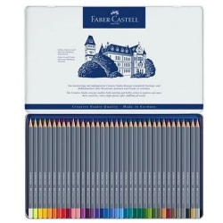 Kredki akwarelowe Faber-Castell Goldfaber Aqua - 36 kolorów