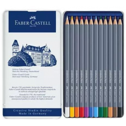 Kredki akwarelowe Faber-Castell Goldfaber Aqua - 12 kolorów