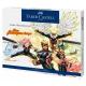 Zestaw Faber-Castell Goldfaber Comic Illustration - 15 elementów - zestaw prezentowy