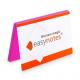 Notes elektrostatyczny EasyNotes 100x70mm - różowy