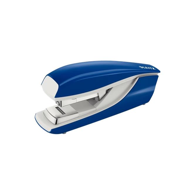 Zszywacz duży Leitz Flat Clinch - niebieski