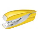 Zszywacz średni Leitz WOW - żółty metaliczny