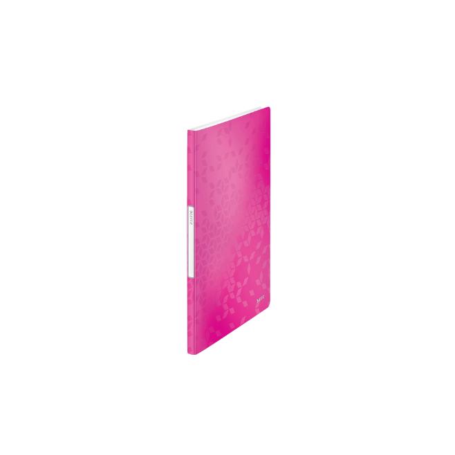 Album ofertowy 20 koszulek PP Leitz WOW - różowy