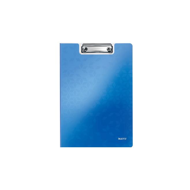 Deska z klipsem i okładką Leitz WOW - niebieski
