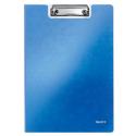 Deska z klipsem i okładką Leitz WOW - niebieska