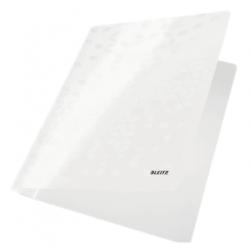 Skoroszyt kartonowy Leitz WOW - biały