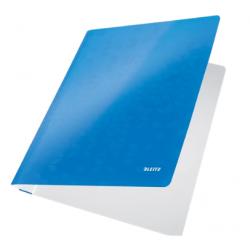 Skoroszyt kartonowy Leitz WOW - niebieski