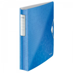 Segregator ringowy PP Leitz Active WOW SoftClick 52mm - niebieski metaliczny