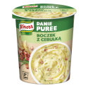 Danie w kubku Knorr - puree z boczkiem i cebulką