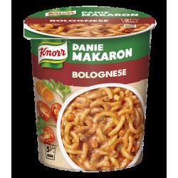 Danie w kubku Knorr - makaron z sosem bolońskim