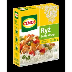 Ryż biały długi Cenos - 4x100g