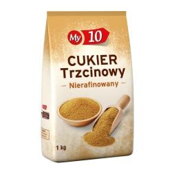 Cukier trzcinowy, nierafinowany - 1 kg