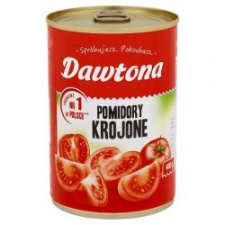 Pomidory krojone bez skórki Dawtona - puszka 400g