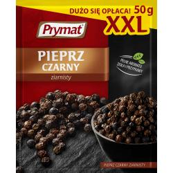 Pieprz Prymat czarny, ziarnisty XXL - 50g