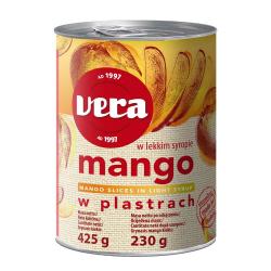 Mango w syropie Vera plastry - 425g