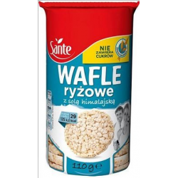 Wafle Sante ryżowe naturalne - 110g