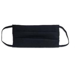 Maska ochronna z włókniny - czarna - 1szt