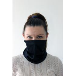Maska ochronna komin - czarna - 1szt