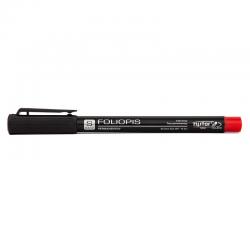 Foliopis Rystor S 0,4mm - czerwony