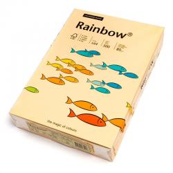 Papier kolorowy Rainbow A4 80g/500ark., nr 06 - kość słoniowa