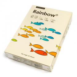 Papier kolorowy Rainbow A4 80g/500ark., nr 03 - kremowy