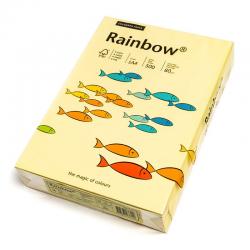 Papier kolorowy Rainbow A4 80g/500ark., nr 12 - żółty jasny