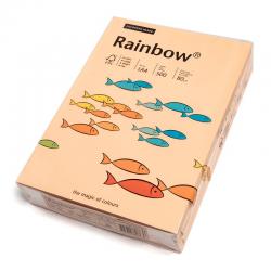 Papier kolorowy Rainbow A4 80g/500ark., nr 40 - łososiowy