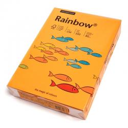 Papier kolorowy Rainbow A4 80g/500ark., nr 22 - pomarańczowy jasny