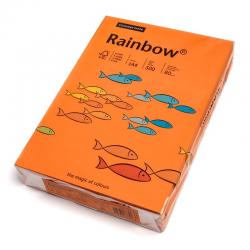 Papier kolorowy Rainbow A4 80g/500ark., nr 24 - pomarańczowy