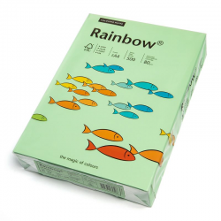 Papier kolorowy Rainbow A4 80g/500ark., nr 75 - przygaszona zieleń