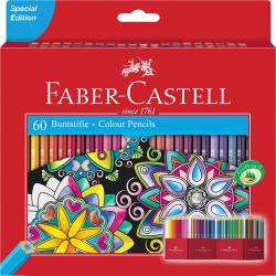 Kredki ołówkowe Faber-Castell - 60 kolorów