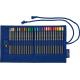 Kredki ołówkowe Faber-Castell Goldfaber - 27 kolorów - piórnik rolowany