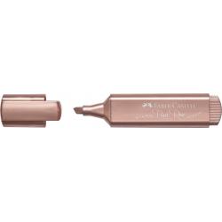 Zakreślacz Faber Castell metaliczny - Rose