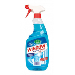 Płyn do szyb Window Plus z amoniakiem 750 ml