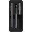 Pióro i długopis Faber Castell Grip 2011 - kolor antracytowy