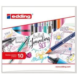 Pisaki kreatywne Edding - Bullet Journal - zestaw 10 szt