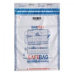 Koperta bezpieczna transparentna SafeBag B4 rozmiar 275 x 375 mm