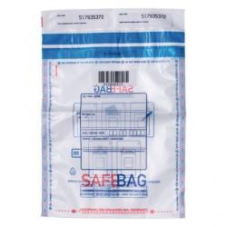Koperta bezpieczna transparentna SafeBag B5 rozmiar 200 x 260  mm