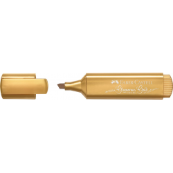Zakreślacz Faber Castell metaliczny - Gold