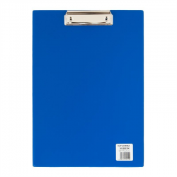 Deska z klipsem A4 - Biurfol - niebieska