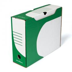 Pudło archiwizacyjne Biuro Plus 80mm - zielone