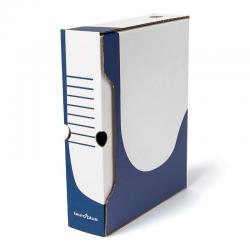 Pudło archiwizacyjne Biuro Plus 80mm - niebieskie