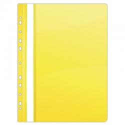 Skoroszyt zawieszany Donau PVC - żółty